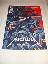 Metallica Antwerp, Belgium 2 Poster Set (Both Shows)