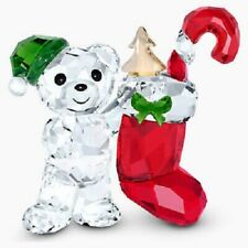 New ListingSwarovski Crystal 2020 Annual Christmas Kris Bear 5506812.New In Box.