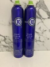 It's A 10 - Miracle Finishing spray 10oz PACK OF 2  NEW