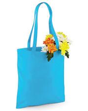 TOTE SHOPPER BAGS 100% COTTON  ALL PURPOSE REUSABLE COTTON TOTES BAGS