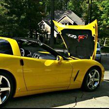 C6 Corvette Under Hood Liner Emblem Fits: 05-13 Corvettes Except the ZR1