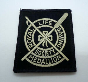 Rare Vintage Scuba Diving Patch Royal Life Saving Society Medallion