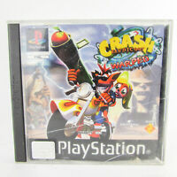 Crash Bandicoot 3 Warped Sony PlayStation 1 PS1 Complete Black Label
