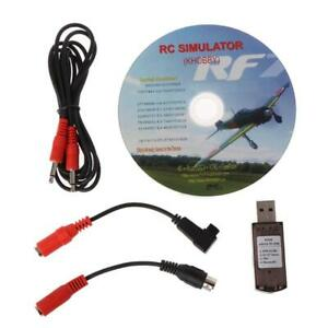 22 In 1 RC USB Flight Simulator With Cables For G7 Phoenix 5.0 Aerofly XTR VRC