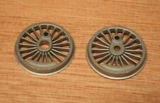 HORNBY Pair of Locomotive Driving Wheels, not painted or plated