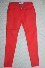 PORTMANS tangerine orange malibu ankle cropped skinny slim jeans size 8 BNWT