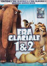 DVD L'era glaciale 1 & 2 - Cofanetto 4 dischi |usato