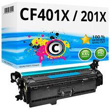 1x TONER für HP 201X 201A Color LaserJet Pro M252dw M252n MFP M274n M277dw Cyan