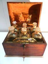 ENGLISCHE REISEBAR um 1810, orig.Glas,Sampson Mordan & Makers-Joseph Bramah Lock