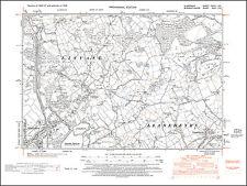 Llanishen, Llanedeyrn, Lisvane, old map Glamorgan 1948: 37SE repro Wales