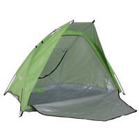 Portable Beach Tent Camp Hiking Sun Shelter 2-3 Person Anti-UV w/ Carry Bag