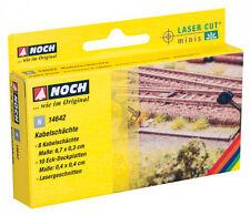 Noch 14642 N 1:160 taglio laser minisett canali per cavi NUOVO IN