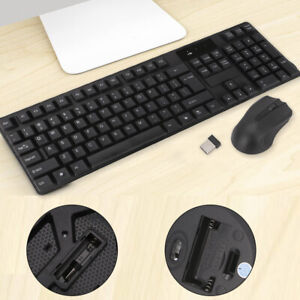 2.4GHz Gaming Gamer Keyboard And Optical Mouse Set Combo For PCLaptop waterproof