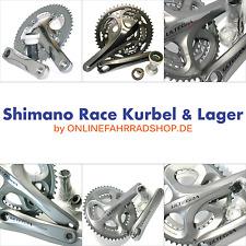 Shimano Kurbel FC-4600 / FC-5703 / Ultegra FC-6601 / FC-6700 / FC-6750 m. Lager