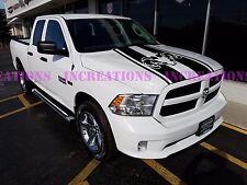 Hemi Dodge Ram Hood Stripe Truck Decals Mopar Stickers  Racing Graphics