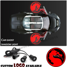 Red Mortal Kombat Dragon Logo LED Car Door Courtesy Projector Ghost Shadow Light