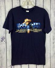 Jason Aldean Night Train 2013 Concert Tour Navy Blue T-Shirt Men's Size S A12-20
