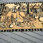 Large African Mudcloth Tapestry Tribal Art Boho Decor Vintage