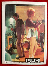 UFO - ANGLO (1970) - Card #10 - Individual Trading Card, Excellent Condition
