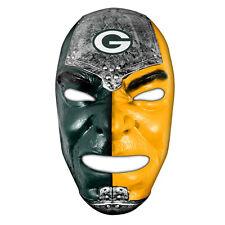 NFL Green Bay Packers Fan Face Costume Mask Franklin 6991F05
