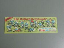 HPF-BPZ: Fußballschlümpfe (dünnes Papier) (100% original)