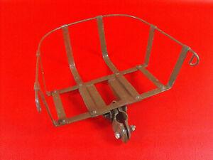 DDR Oldtimer Fahrrad Kindersitz Metall Metallgestell original
