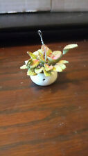 Dolls house accessories  Hanging Basket
