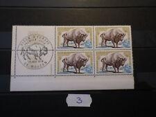 Bloc 4 timbres Yt 1795 Mi 1874 (1974) Neufs MNH ** Cachet 1er Jour FDC Marges
