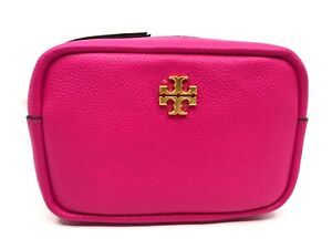 Tory Burch NEW Limited Edition Crazy Pink Strap Leather Chain Mini Bag $258 Auth