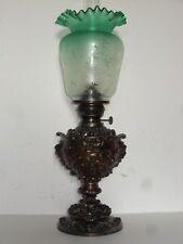 alte Lampe, Tischlampe, Salonlampe,  Petroleumlampe, Gründerzeit um 1880
