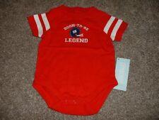 Gymboree Precious Prep Football Bodysuit Red Baby Boys Size 0-3 months NWT