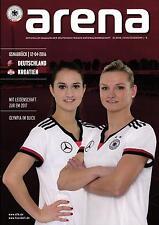 EM-Qualifikation 12.04.2016 Deutschland - Kroatien in Osnabrück, Arena 01/2016