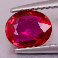 1.12cts GIT Certified Flawless UNHEATED PIGEON BLOOD RED Natural Ruby Mozambique