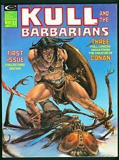 Kull and the Barbarians Magazine #1 NM- 9.2