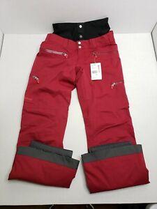 Marmot Women's Jezebel Thermal Snow Pants 78420 Medium Red NWT