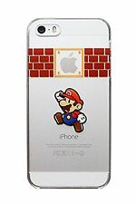 Lote 2 FUNDAS CARCASAS RIGIDAS Mario Bros IPHONE 6 4.7 Cartoon protector 6S