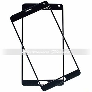 Black Screen Glass Lens Replacement for Samsung Galaxy Note 4 b549