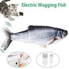 Katzenspielzeug Elektrischer Graskarpfen Wagging Fisch Spielzeug Kratzbaum 30cm