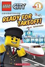 Lego City: Ready for Takeoff! by Sonia Sander and Inc. Staff Scholastic (2010, Paperback)