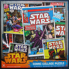 jigsaw puzzle 1000 pc Star Wars Comic Collage Cardinal Industries