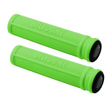 Author Vélo poignées AGR Silicone 130mm 22,2mm vert silicone universel