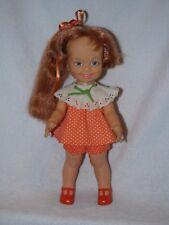 Vintage Ideal  Grow Hair Cinnamon Doll Original From The Crissy Family