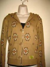 Satori Womens Eco Bamboo Zip Hoodie Sweatshirt Med M