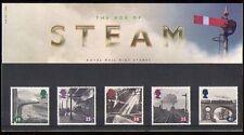 GB 1994 Steam/Trains/Rail/Transport 5v P Pack (n30800)
