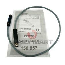 Festo New Sme 8 S Led 24 150857 Proximity Switch Sensor 0 250 Vdc 230vac 3 Pin