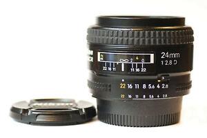 Nikon Nikkor 24mm Auto Focus D Lens