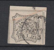 FRANCOBOLLI 1852 STATO PONTIFICIO 8 BAJ D/4557