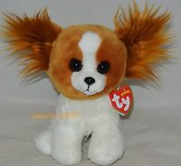 """2017 Ty Beanie Baby BARKS the Dog 6"""" IN HAND"""