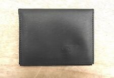 ST logo Black Leather credit card size, driving licence / ID holder vs933