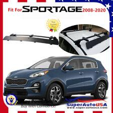 Fits Kia Sportage 2008-2020 Rooftop Rack CrossBar Wind Fairing Air Deflector Kit